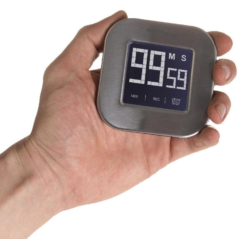 Minutka do kuchyně, minutovník Fiber Mounts - odpočet, stopky, alarm, magnetická