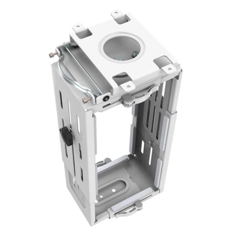 Držák na PC pod stůl, nosnost 15kg, nastavení na rozměry PC, profesionální, TOP kvalita - Fiber Novelty PC2W