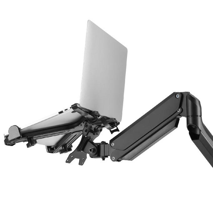 Fiber Mounts 836F80 je kvalitní polohovací stolní držák na notebooky a laptopy