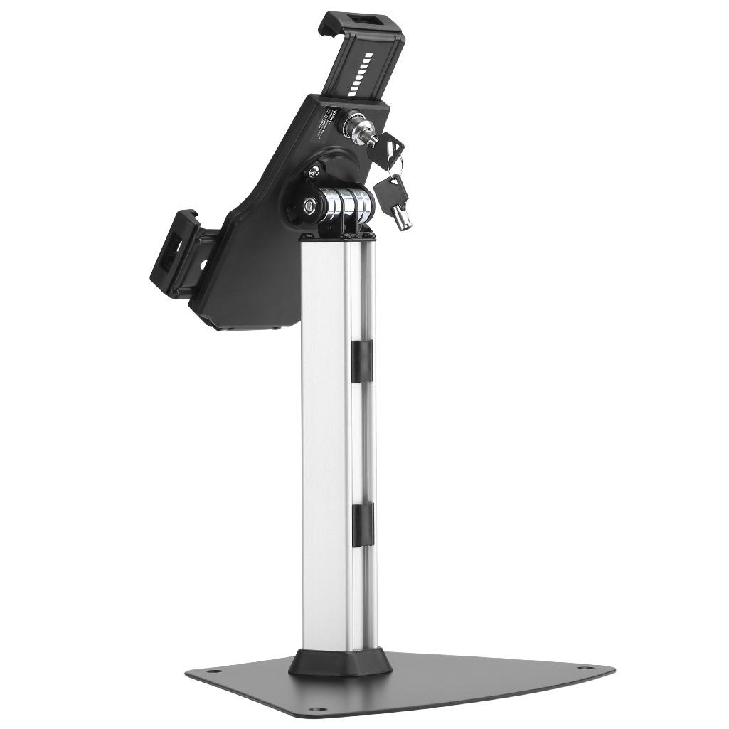 Kvalitní stolní stojan s uzamykatelným držákem na tablety a iPady, výborná kvalita a krásný dizajn - Fiber Mounts Tagata1