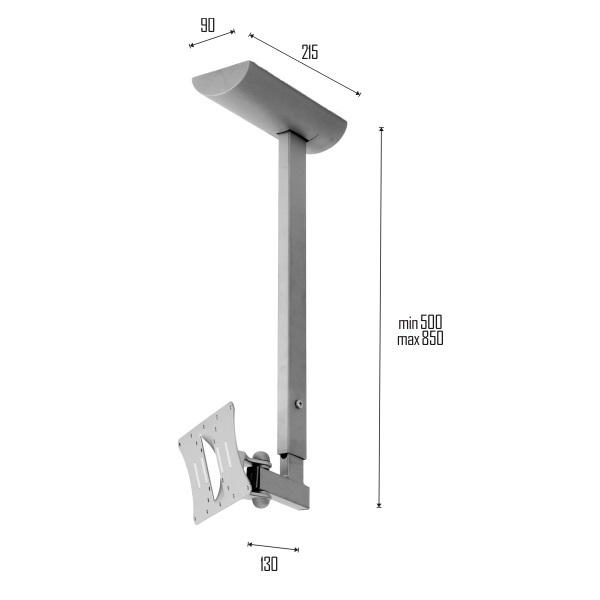 OMB Hisolution - stropní držák televize monitoru - originál od OMB