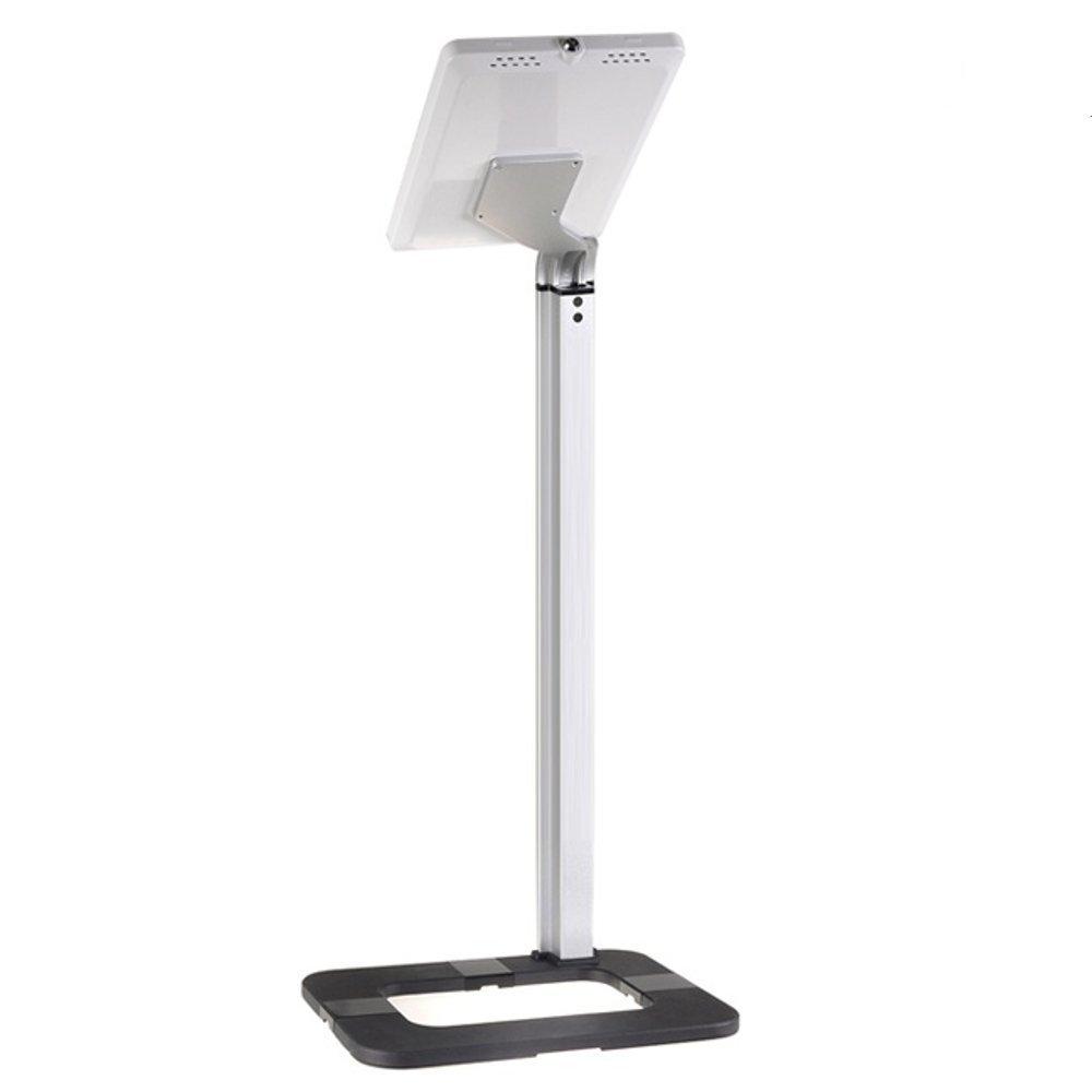 Podlahový stojan s uzamykatelnou přihrádkou na tablet iPad Fiber Mounts M6C45