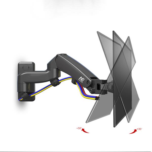 Televizní držák Fiber Mounts F150 je výškově a délkově nastavitelný, otočný i sklopný. Navíc funkce Pivot, vedení kabeláže, korekce roviny. TOP kvalita / drzakyastolky.cz