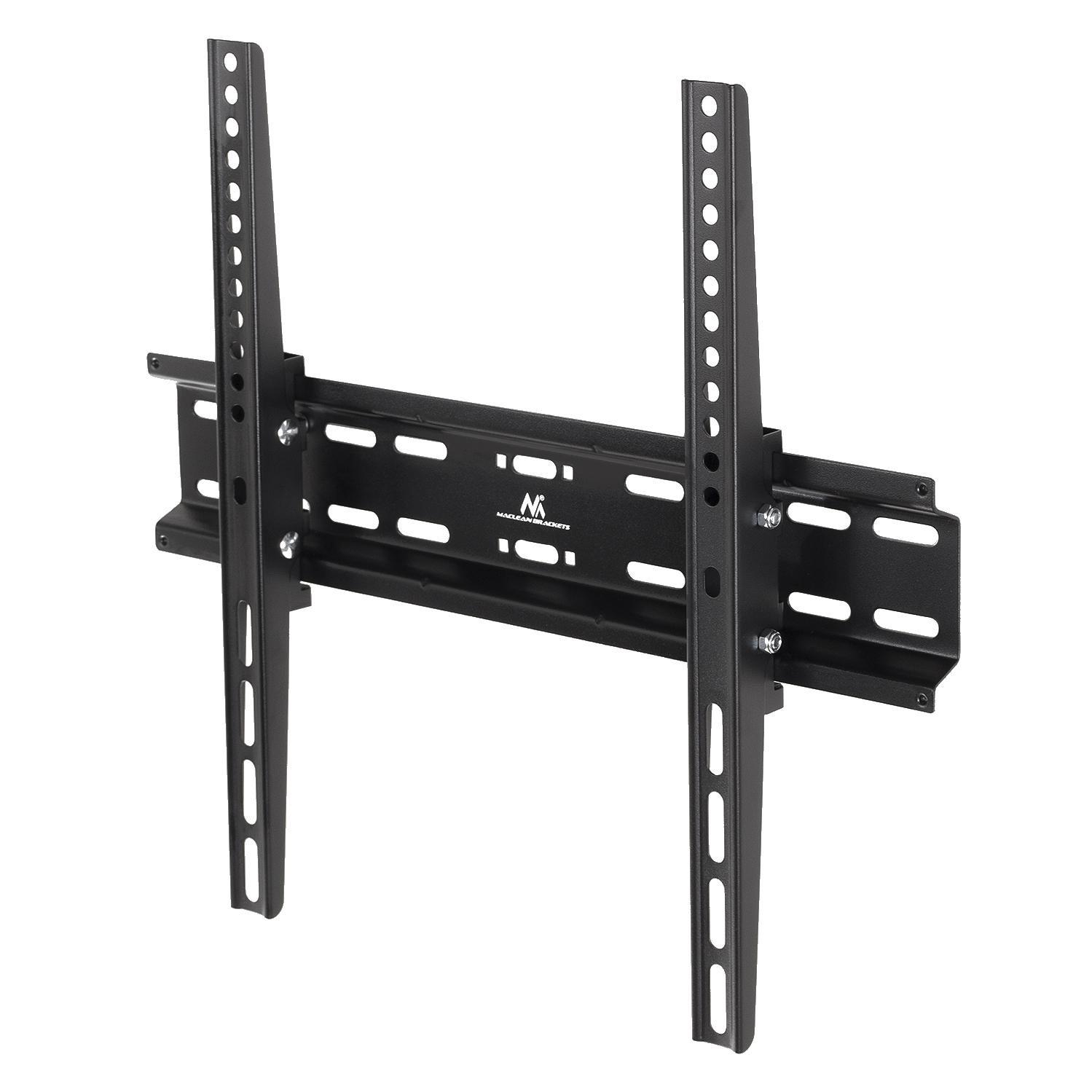 Spolehlivý nástěnný náklopný držák pro zavěšení televizorů 32-55 palců na stěnu, nastavení a zajištění požadovaného náklonu, zajištění Tv proti vysazení, podpora VESA, nosnost 35kg - Fiber Mounts DELTA748