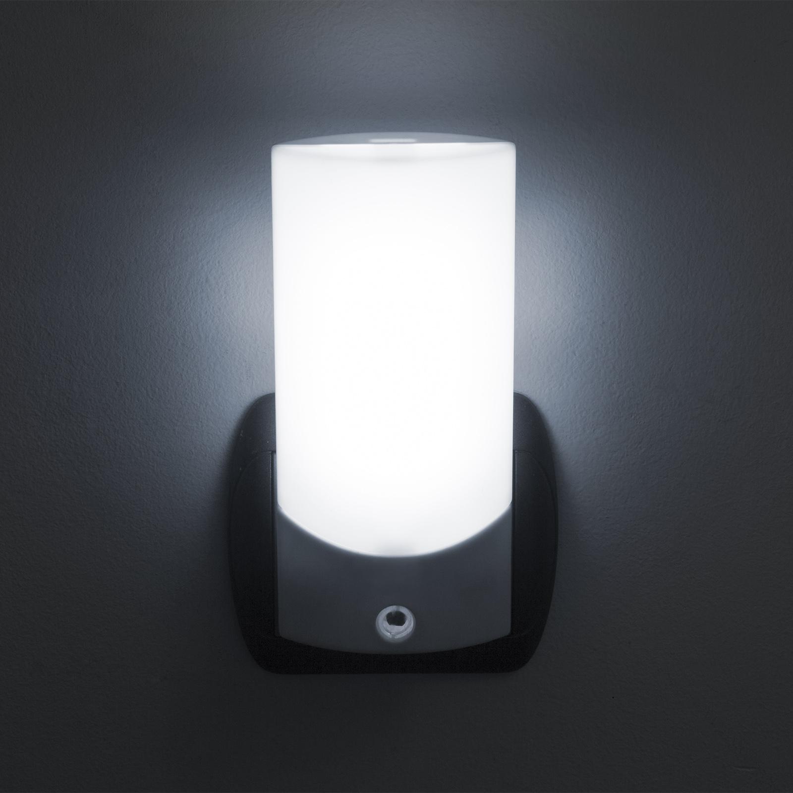 Diskrétní noční světlo se světelným senzorem, automatické sepnutí a vypnutí dle množství světla, velmi pěkný dekorativní design - Phenom 20253S