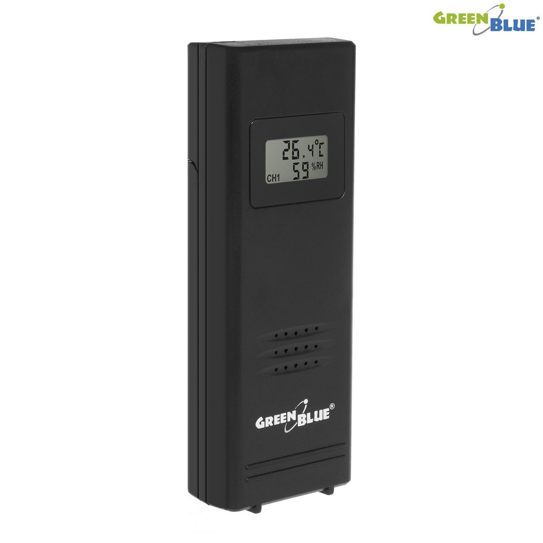 Domácí Meteostanice GreenBlue GB146B - venkovní senzor s displeyem