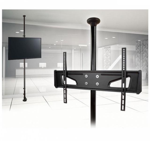 Speciální držák na Tv monitor display s uchycením kdekoliv do prostoru místností, držák na teleskopické tyči - Fiber Mounts AX791