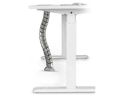 Uspořádejte si kabeláž na pracovním stole - designový pořadač kabeláže SNAKE768S