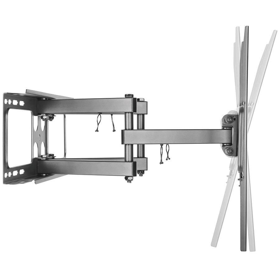 Kvalitní levný výsuvný otočný i sklopný držák na každou televizi Fiber Mounts SOLID-1