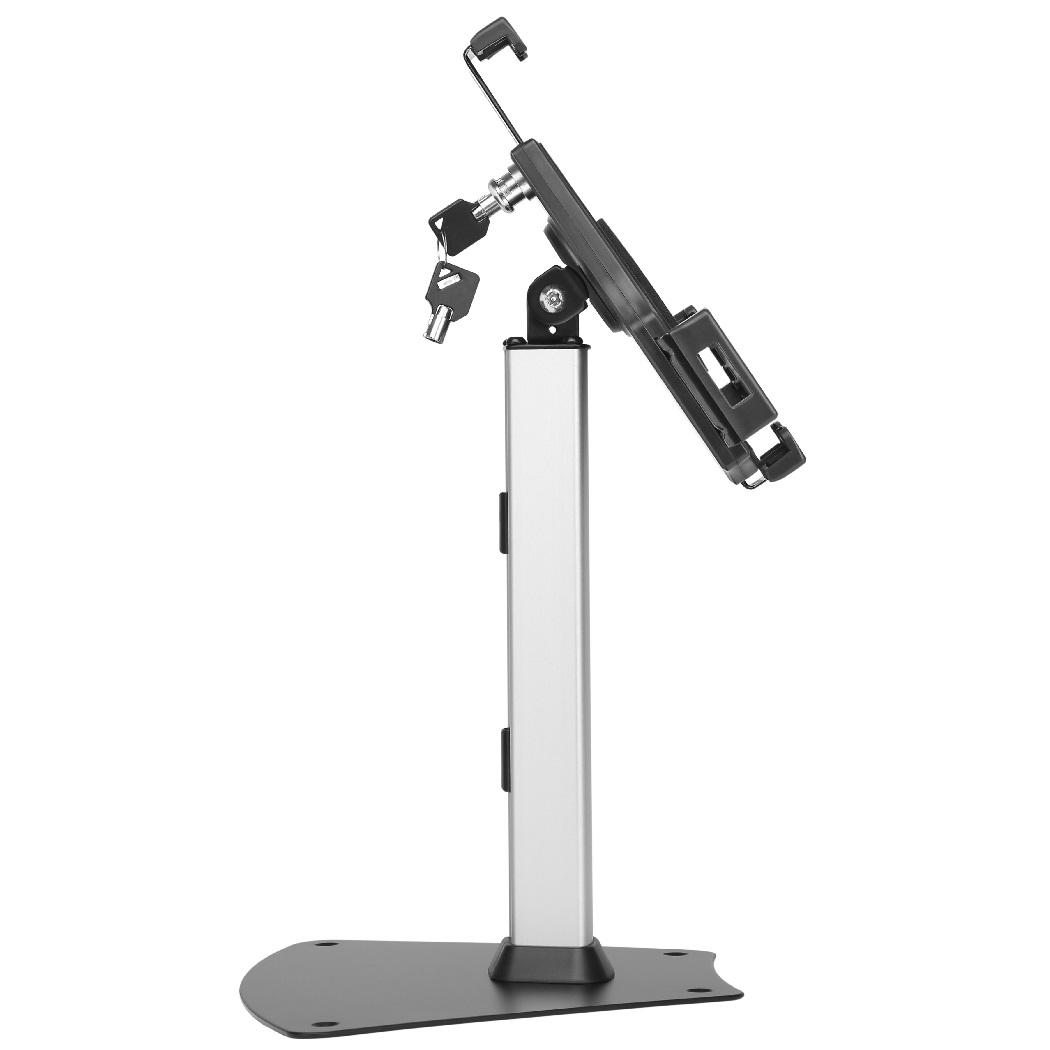 Uzamykatelný stolní stojan s držákem na tablety a iPady, univerzální, TOP kvalita a krásný dizajn - Fiber Mounts TAGATA1