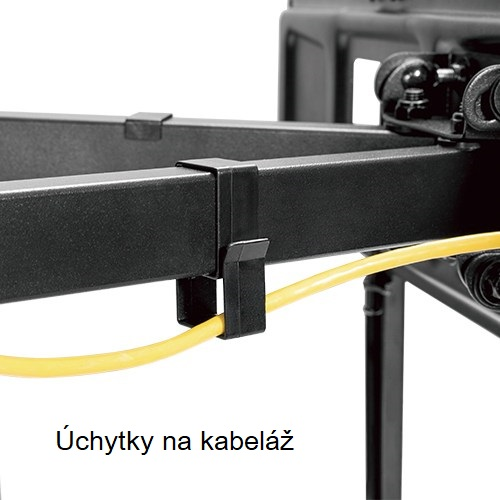 Ocelový nástěnný držák poctivé konstrukce Fiber Mounts Solid-2