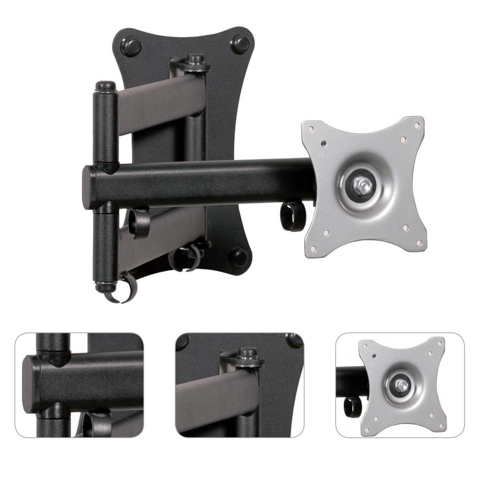 Polohovatelný otočný sklopný a délkově nastavitelný držák na LCD LED televizory a monitory - EDBAK GD26 / drzakyastolky.cz
