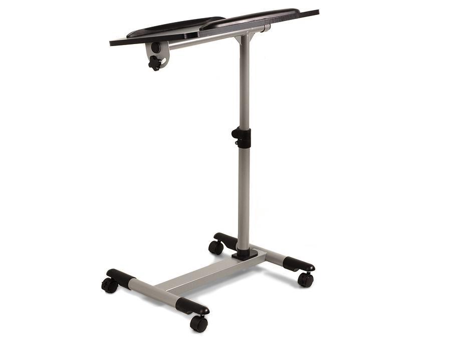 Stolek / podstavec / vozík na projektory a notebooky - pojízdný, výškově stavitelný, náklopný, stabilní, skladný a lehký - Fiber Mounts ST671