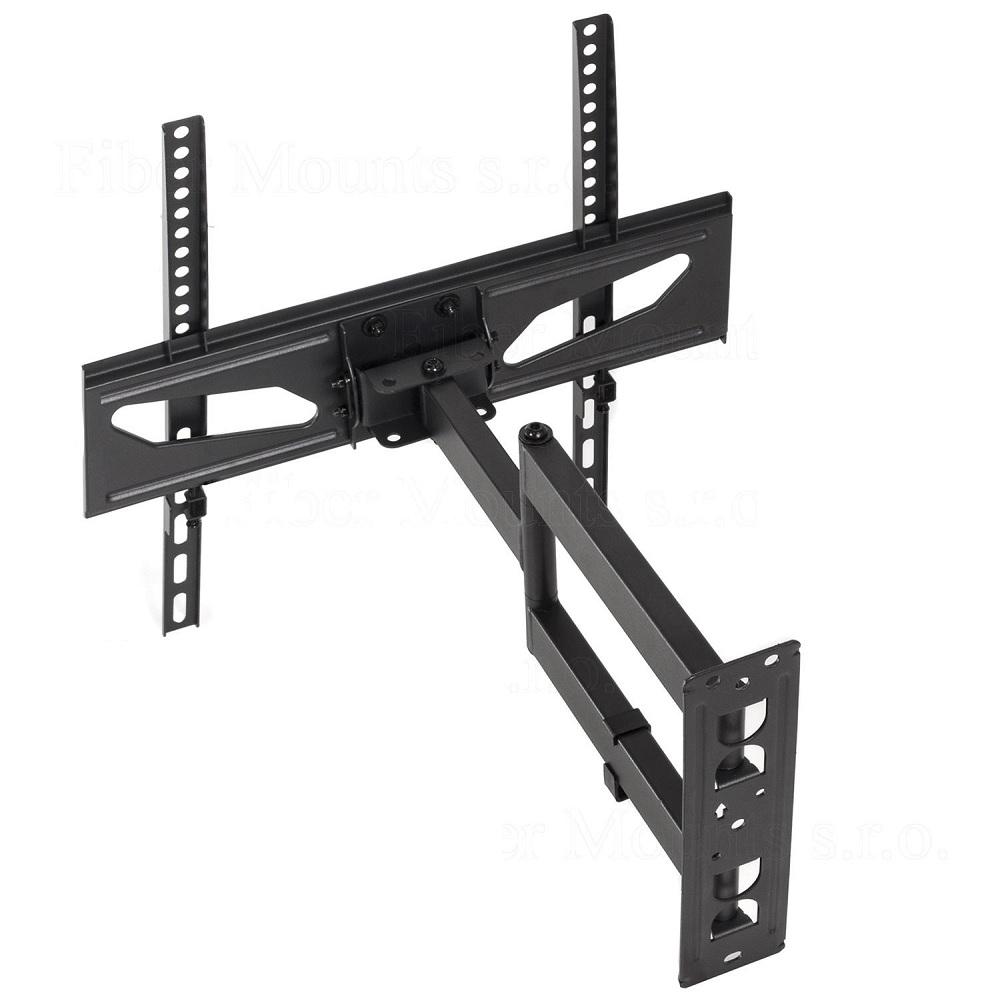 Kvalitní držák Tv na zeď, zavěšení Tv s úhlopříčkou 26-55 palců, polohování Tv - Fiber Mounts M7C11