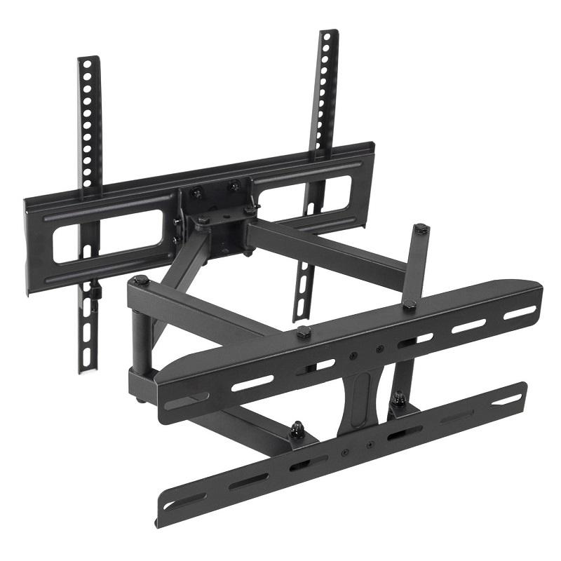 Levný kvalitní otočný, sklopný i délkově nastavitelný držák pro zavěšení všech typů televizorů s úhlopříčkou 26-55 palců - Fiber Mounts DELTA760 / drzakyastolky.cz