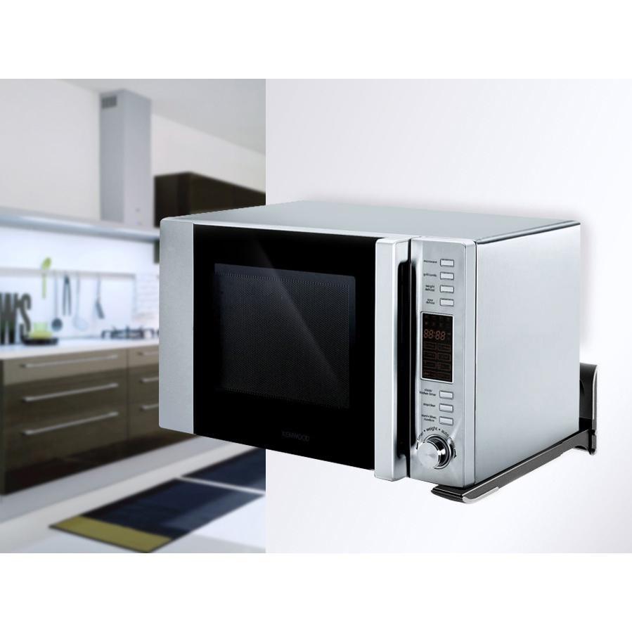 Univerzální držák na mikrovlnku nebo tiskárnu, nosnost 45kg, nastavení délky ramen, spolehlivé, pevné, levné - Fiber Mounts AX776B