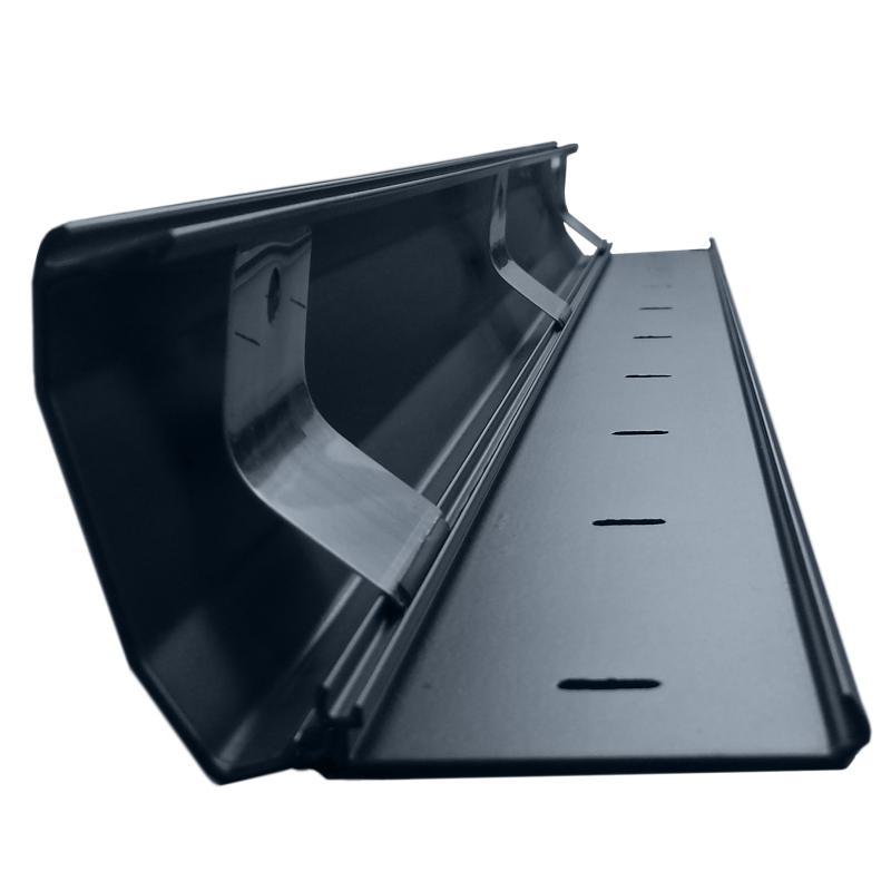 Hliníková lišta na kabeláž, barva černá, délka 110cm, systém click-lock pro snadné uložení kabelů - Fiber Novelty MASK110B