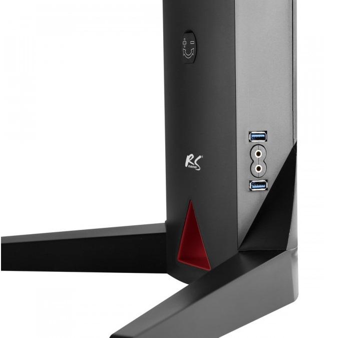 Kvalitní a velmi pěkný podstavec na monitor nebo televizor RS110 má integrované porty 2x USB 3.0 a porty na sluchátka a monitor
