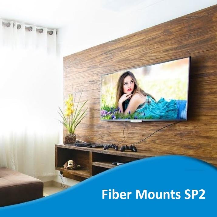 Kvalitní držák na televizi s obrovskou nosností, velmi bezpečný a spolehlivý, i na opravdu velké a těžké televize. Fiber Mounts SP2 je držák pro každého, kdo chce spolehlivost a bezpečnost na prvním místě.