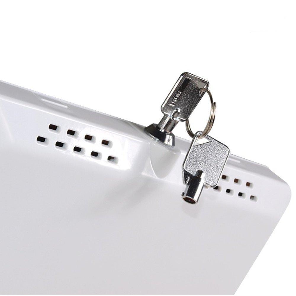 Uzamykatelná přihrádka na tablety nebo iPady na stojanu Fiber Mounts M6C45