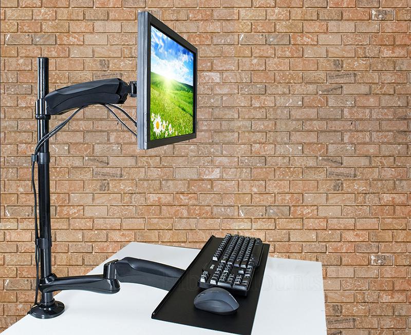 Fiber Mounts MC681 - práce na PC vestoje nebo vsedě, kdykoliv, snadno a rychle