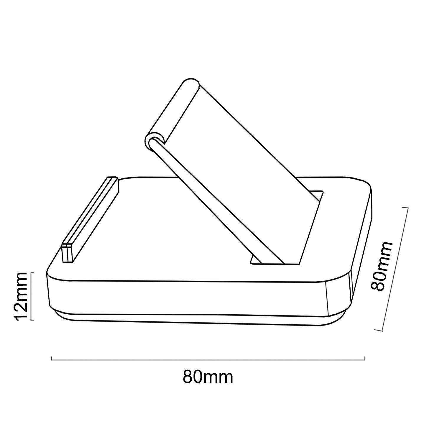 Podstavec na tablet mobilní telefon čtečku knih - Fiber Mounts MC745