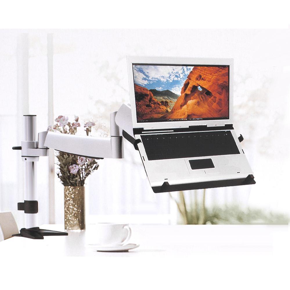 Použití držáku notebooku Fiber Mounts PDN764 na stolním držáku