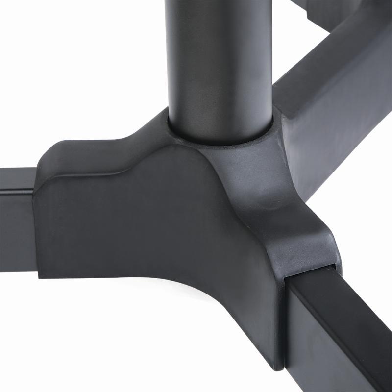 ErgoSolid Falco 40: designová krytka propojení nosníku stojanu s podstavou