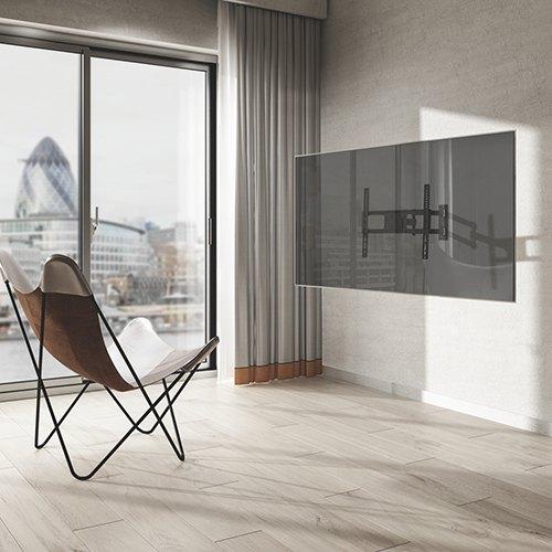 Univerzální držák na televize - výsuvný, otočný, sklopný, korekce roviny, výborná kvalita a skvělá cena - držák Fiber Mounts Long61