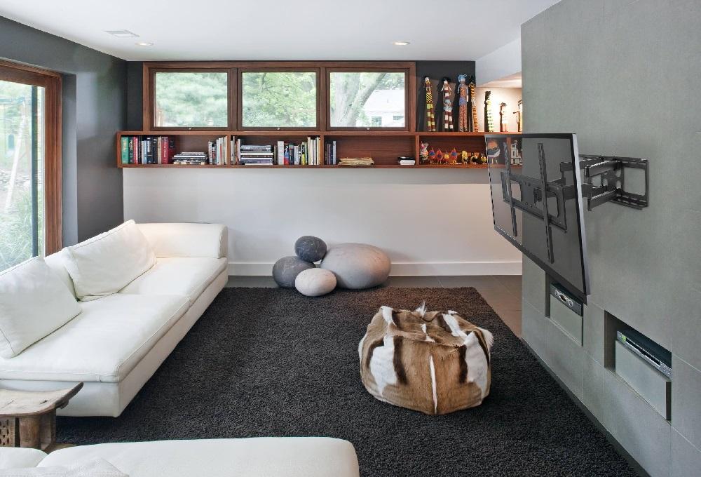 Televizní držák Fiber Mounts Prominent je ideální na LCD, LED a plazmové televize, vhodný je do obýváku, ložnice nebo pracovny