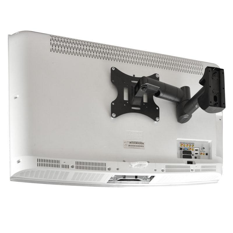 Levný základní držák na televize s kvalitním opláštěním konstrukce a skrytým vedením kabeláže Fiber Mounts FM503