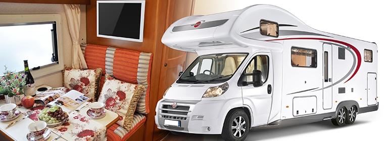 Televizní držák, který je ideální do karavanů a do lodí díky fixaci v požadované poloze - Fiber Mounts M6C75