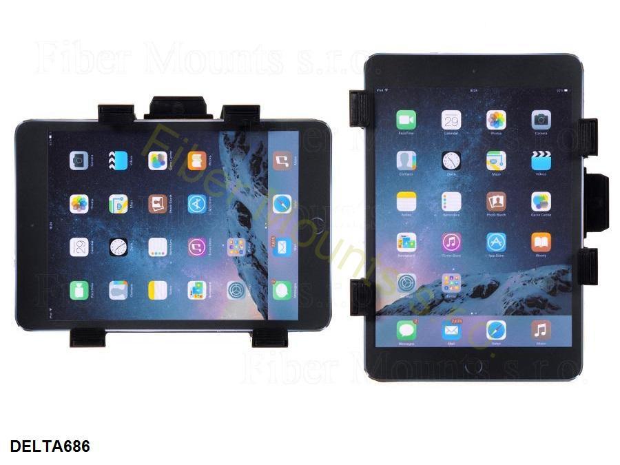 Možnost otočení tabletu do horizontální nebo vertikální polohy - Fiber Mounts DELTA686