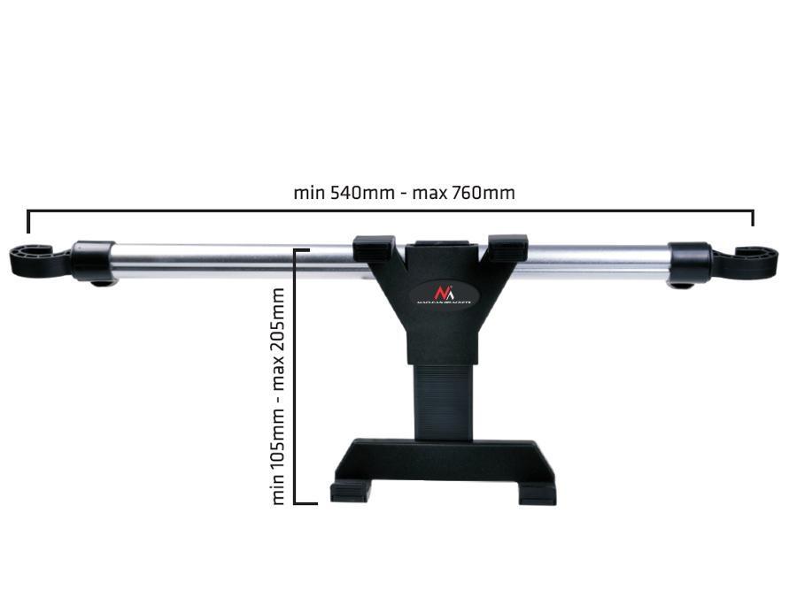 Kvalitní držák na tablet do automobilu - Fiber Mounts MC657