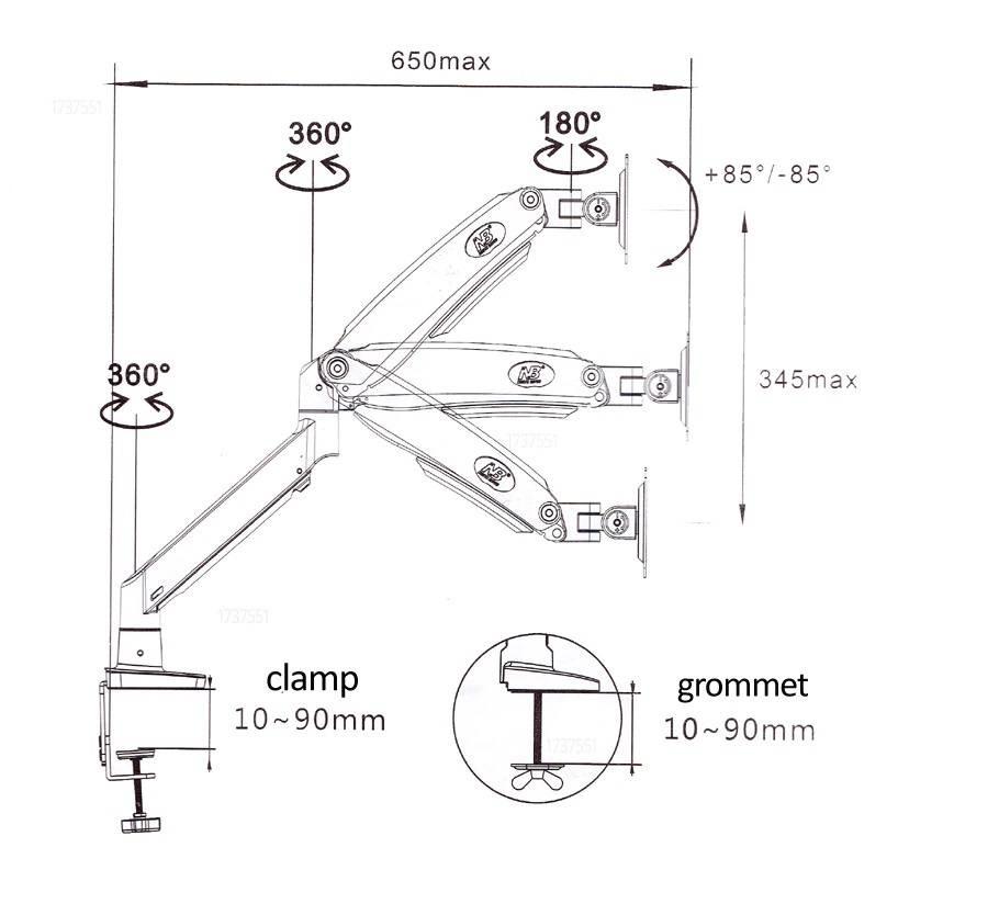 Fiber Mounts F100A