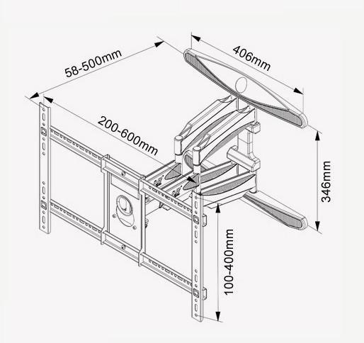 Televizní držák Fiber Mounts P6 je špičkové kvality a je určený pro zavěšení všech typů televizorů s úhlopříčkou do 70 palců. Televizní držák umožňuje otáčení Tv do stran, náklon, odtažení od zdi, korekci roviny, skryté vedení kabeláže. Televizní držák Fiber Mounts P6 vřele doporučujeme i náročným uživatelům.