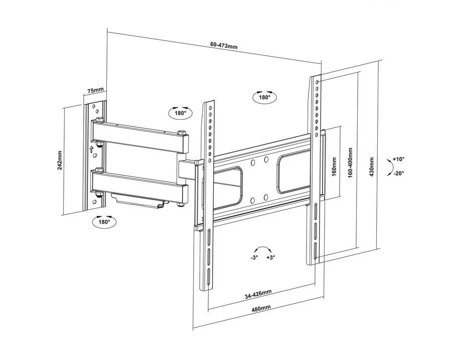 rozměry Fiber Mounts MC647