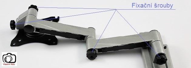 Fiber Mounts M6C75 - držák s fixací polohy televize
