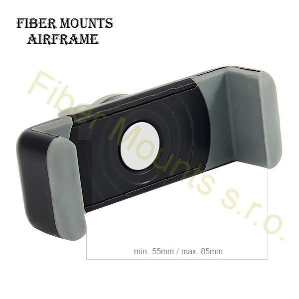 Fiber Mounts Airframe - držák mobilního telefonu, uchycení do větrací mřížky v automobilu