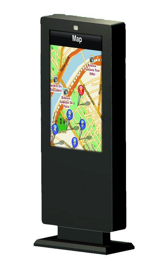 """Informační panel EDBAK IDS5504 (Informační panel na 55"""" monitory a Tv)"""