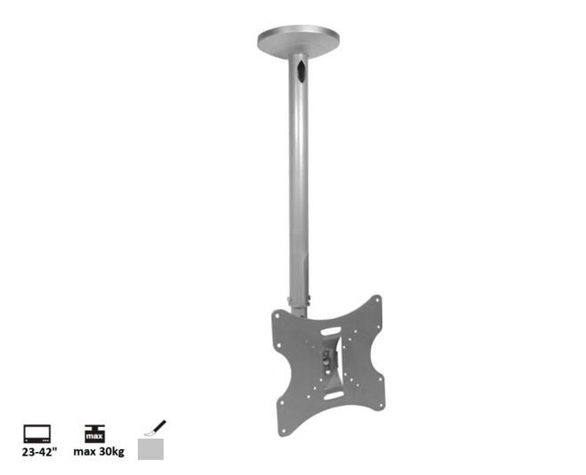 Stropní držák Tv Fiber Mounts FM-504A stříbrný