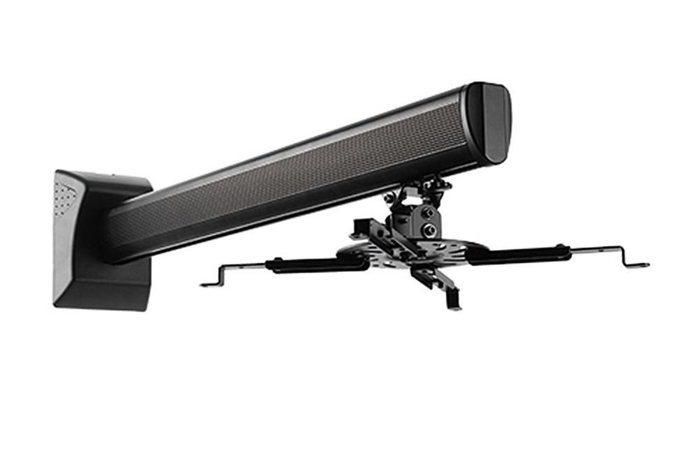 Nástěnný držák na projektor Fiber Mounts MC733 (Držák na projektor s nastavitelnou délkou od stěny, nosnost 16kg)